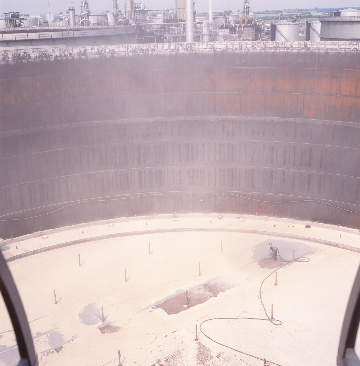 Udførelse af overfladebehandling af stål