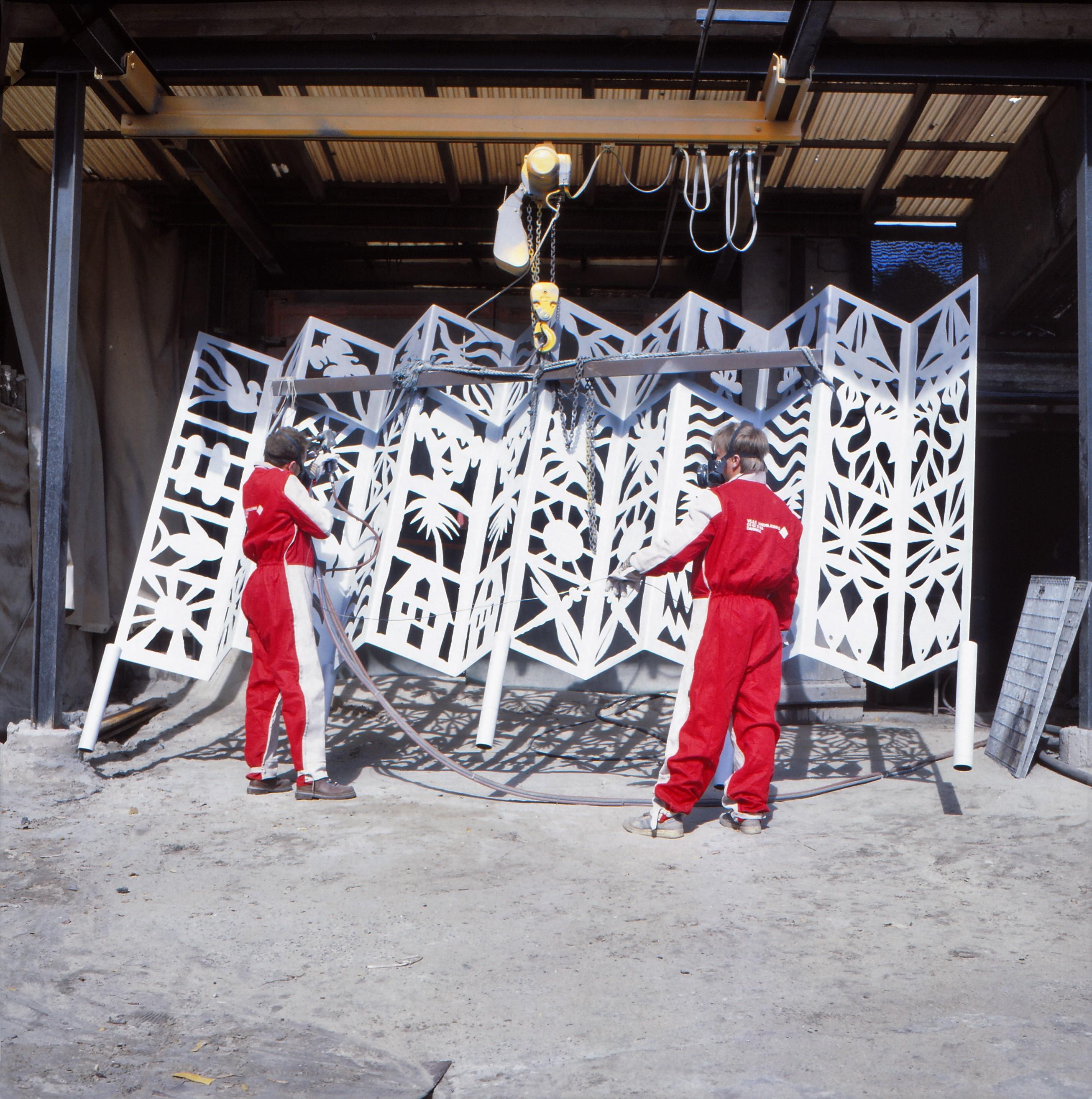 metallisering er en overfaldebehandling af stål